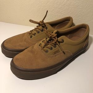 New Vans Era Tobacco Suede Skate Shoes Sz 10